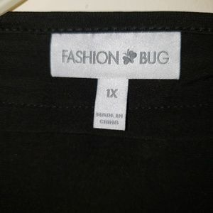 Fashion Bug Tops - Gorgeous black dressy top